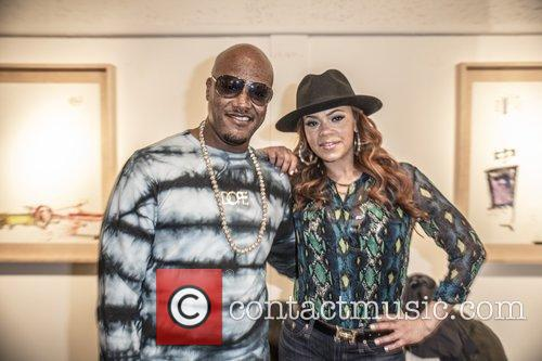 Faith Evans and Cavie 4