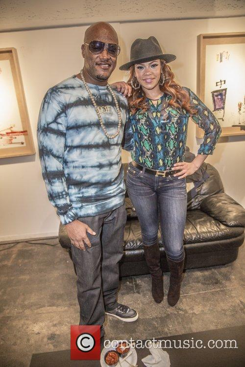 Faith Evans and Cavie 5