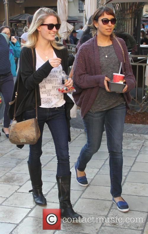 Ashley Hinshaw goes shopping at The Grove