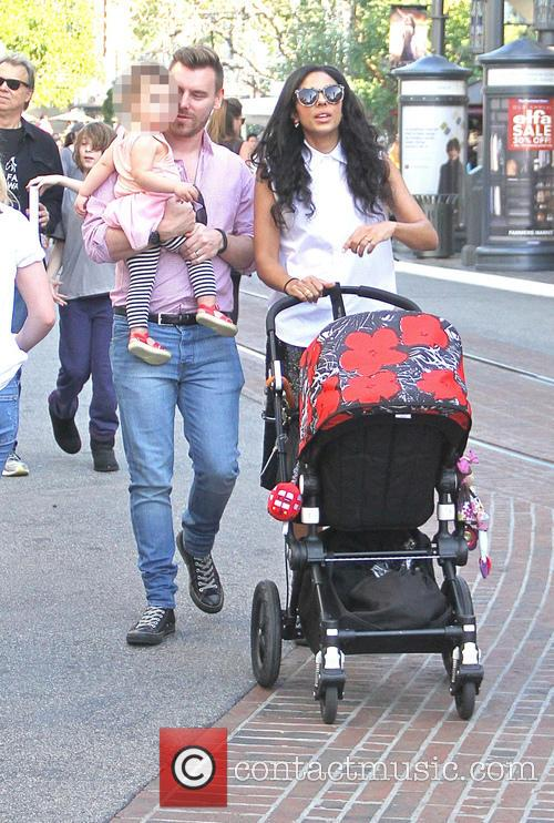 Marsha Thomason takes her family shopping at The...