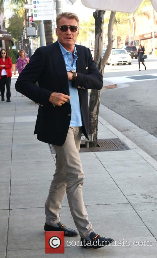 Dolph Lundgren out and about in Beverly Hills