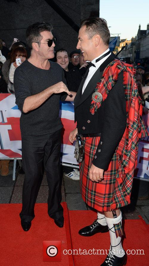 Simon Cowell and David Walliams 9