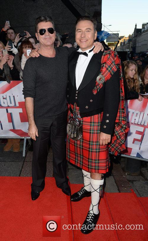 Simon Cowell and David Walliams 10