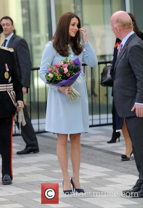 Duchess of Cambridge at Kensington Academy