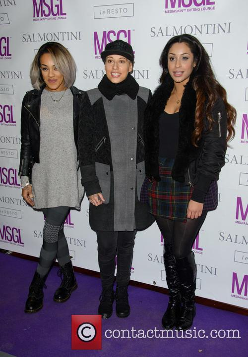 Alexandra Buggs, Karis Anderson, Courtney Rumbold and Stooshe 2