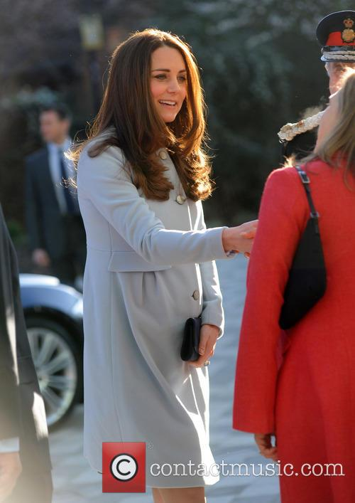 The Duchess of Cambridge arrives