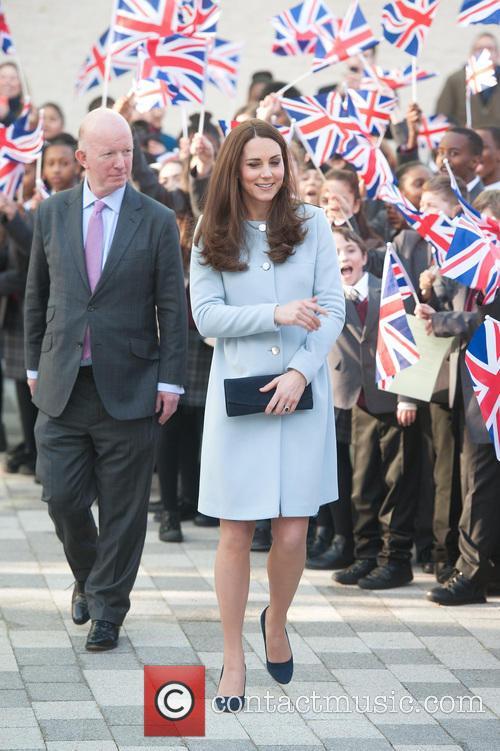 The Duchess of Cambridge at Kensington Leisure
