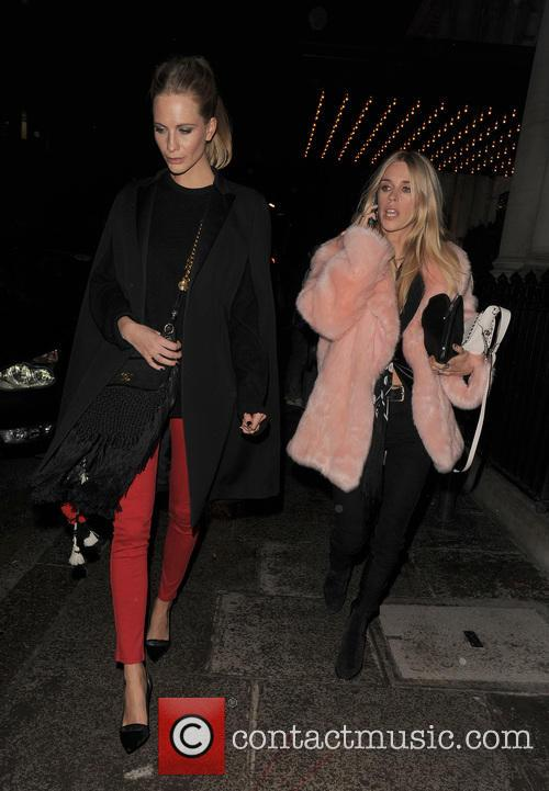 Cara Delevingne leaving her home and heading to...
