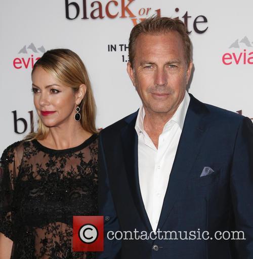 Christine Baumgartner and Kevin Costner 7