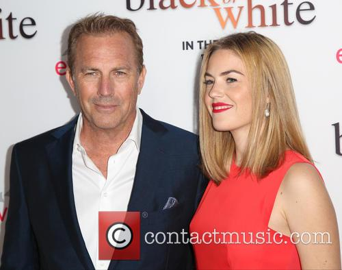 Kevin Costner and Lily Costner 3