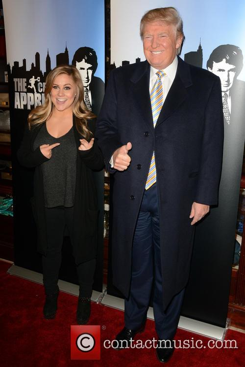 Shawn Johnson and Donald Trump 6