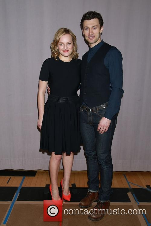 Elisabeth Moss and Bryce Pinkham 7