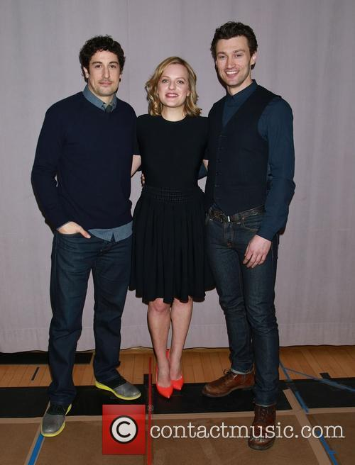 Jason Biggs, Elisabeth Moss and Bryce Pinkham 2