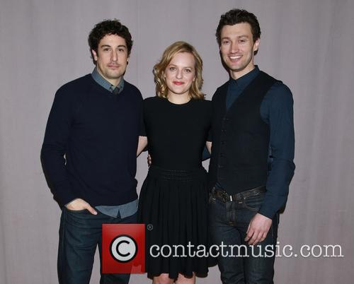 Jason Biggs, Elisabeth Moss and Bryce Pinkham 3
