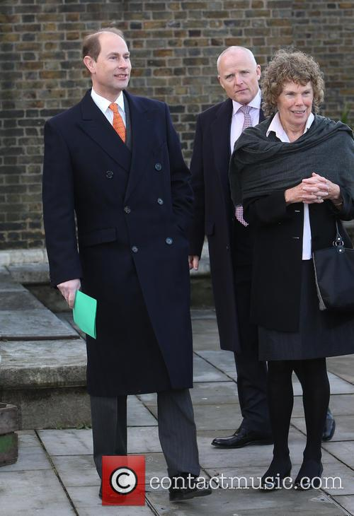 Prince Edward and Kate Hoey 2