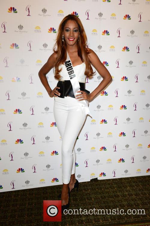 Miss Aruba Digene Zimmerman 1