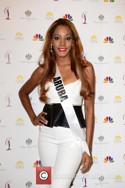 Miss Aruba Digene Zimmerman 2