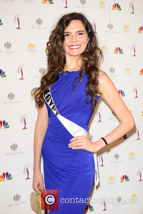 Miss Egypt Lara Debbane 1