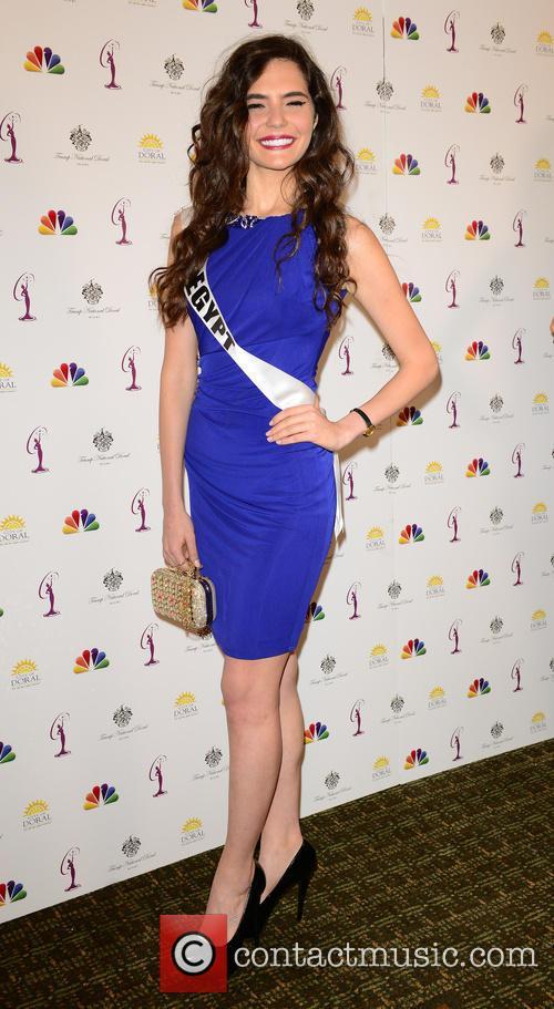 Miss Egypt Lara Debbane 2