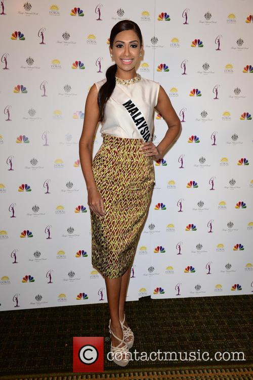 Miss Malaysia Sabrina Beneett 1