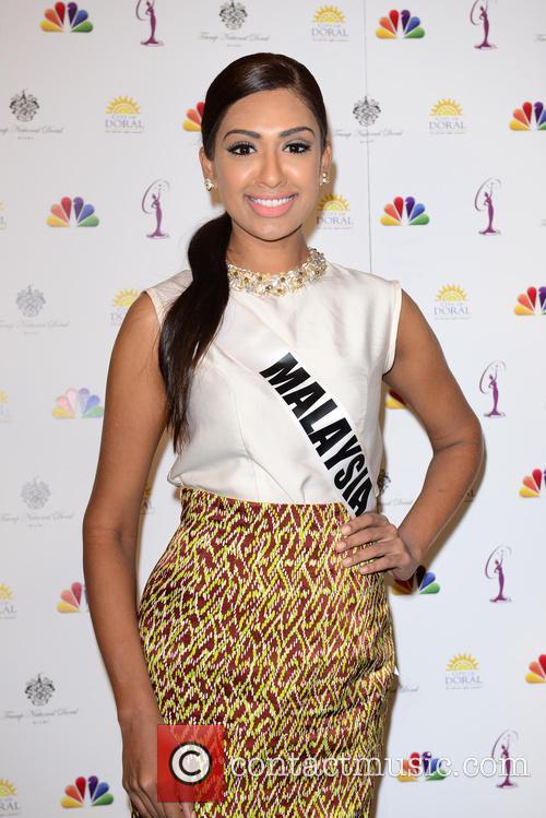 Miss Malaysia Sabrina Beneett 2