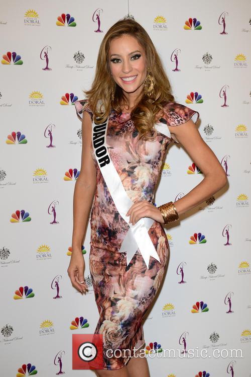 Miss Ecuador Alejandra Argudo 2