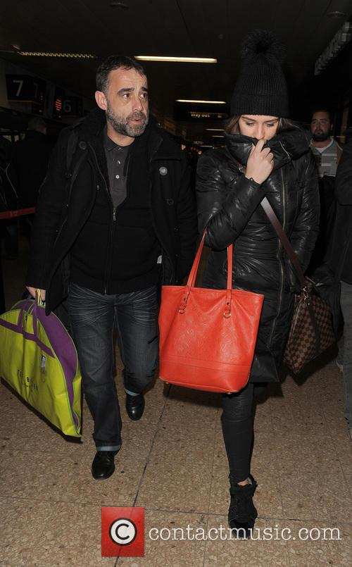 Brooke Vincent and Michael Le Vell 5