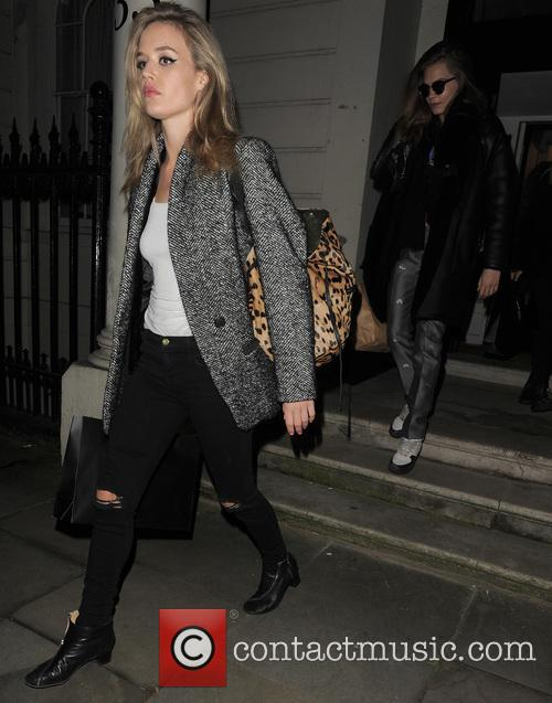 Georgia May Jagger and Cara Delevingne 9