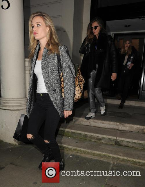 Georgia May Jagger, Cara Delevingne and Suki Waterhouse 7