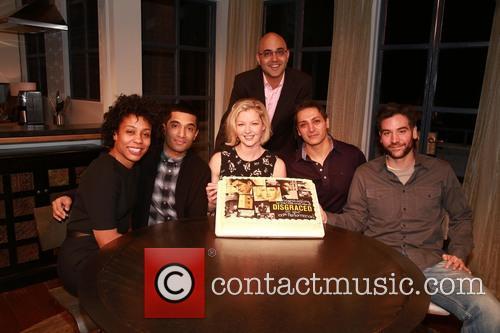 Karen Pittman, Danny Ashok, Gretchen Mol, Ayad Akhtar, Hari Dhillon and Josh Radnor 2