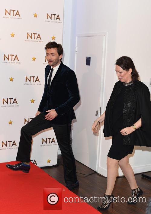 David Tennant and Olivia Colman 7