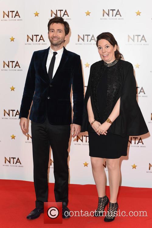 David Tennant and Olivia Colman 9