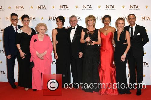 Marvin Humes, Tess Daly, Gok Wan, Eamonn Holmes, Ruth Langsford, Rochelle Humes and  amanda Holden 3