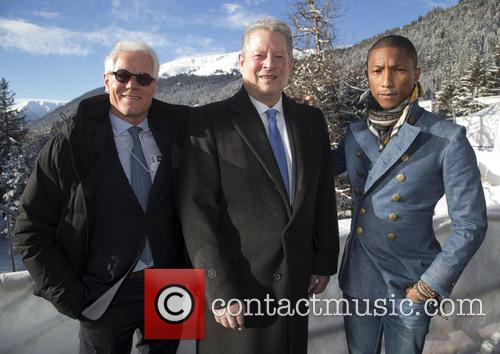Kevin Wall, Al Gore and Pharrell William 1