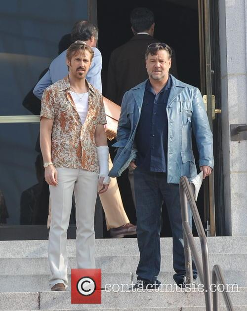 Ryan Gosling and Russell Crowe 4