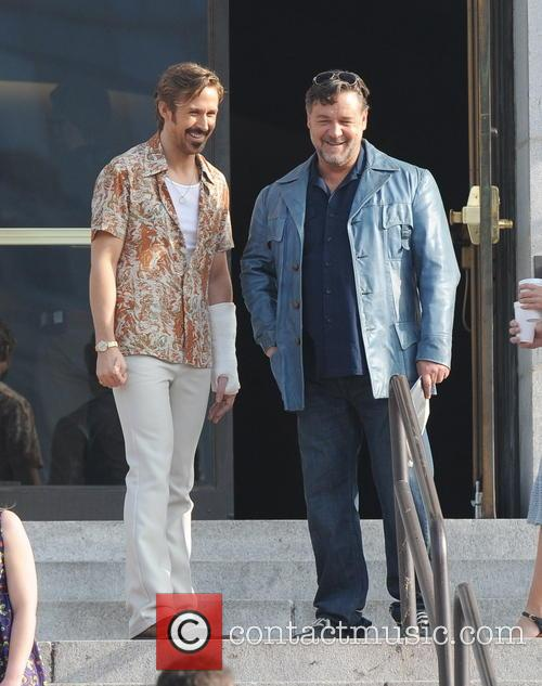 Ryan Gosling and Russell Crowe 6