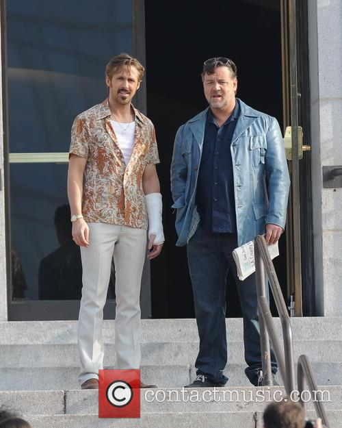 Ryan Gosling and Russell Crowe 8