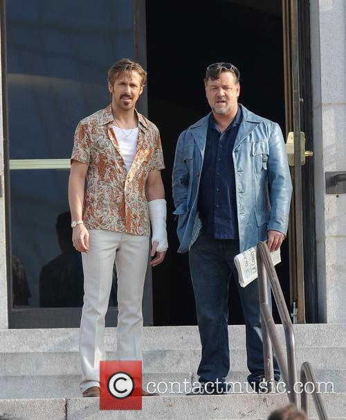 Ryan Gosling and Russell Crowe 9
