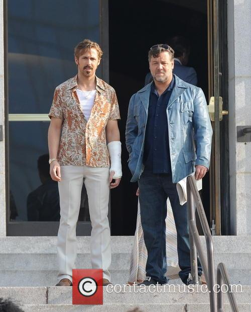 Ryan Gosling and Russell Crowe 11