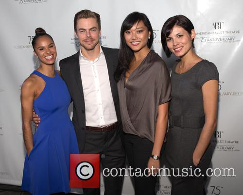 Misty Copeland, Derek Hough, Jennifer Whalen and Luciana Voltolini 1