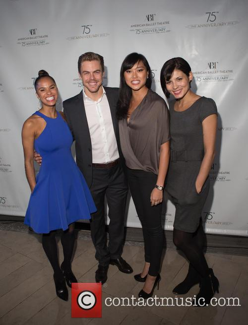 Misty Copeland, Derek Hough, Jennifer Whalen and Luciana Voltolini 2