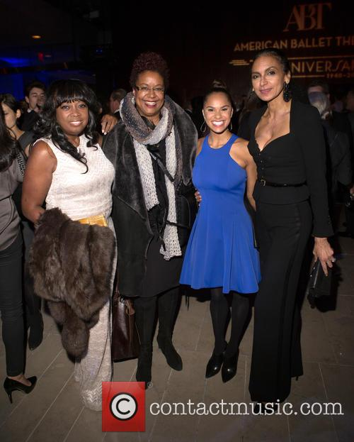 Star Jones, Harriette Cole, Misty Copeland and Susan Fales-hill 1