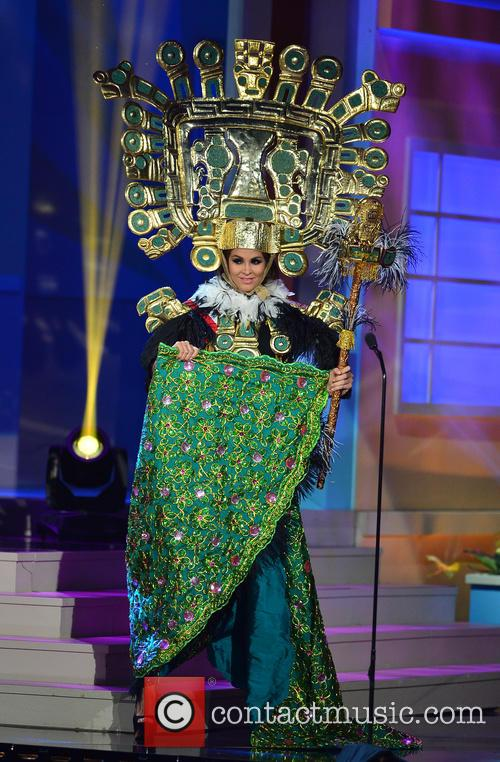 Miss Peru Jimena Espinosa 2