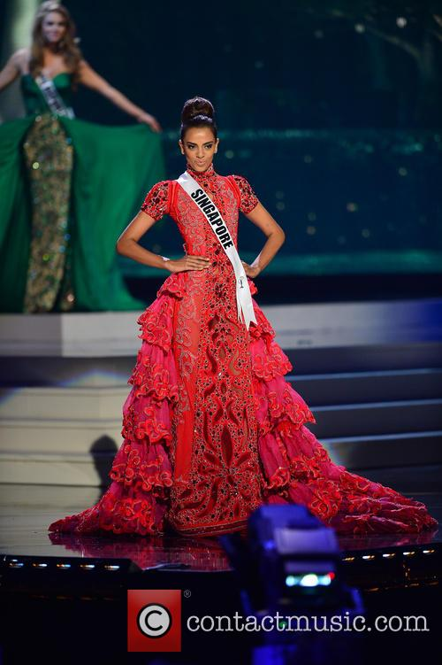 Miss Singapore Rathi Menon 2