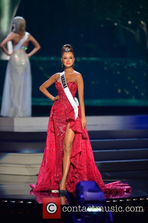 Miss Ukraine Diana Harkusha 2