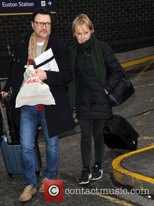 Ian Puleston Davies and Sally Dynevor 2