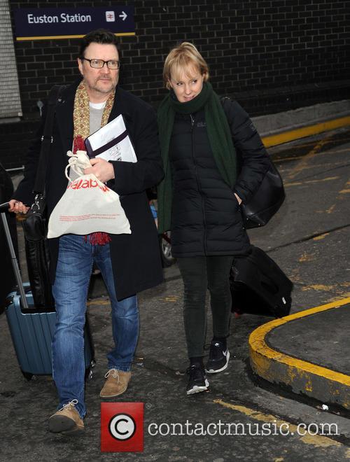 Ian Puleston Davies and Sally Dynevor 1