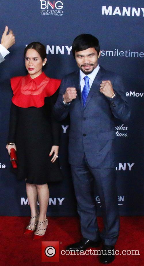 Jinkee Pacquiao and Manny Pacquiao 1