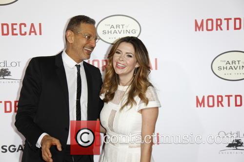 Carly Steele and Jeff Goldblum 2