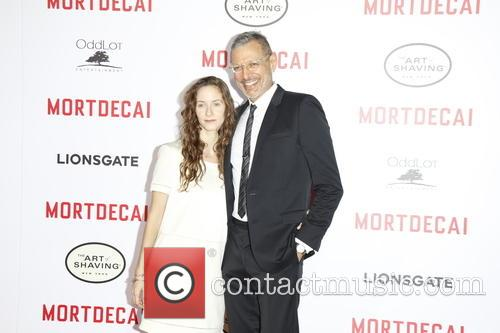 Jeff Goldblum and Emilie Livingston 3